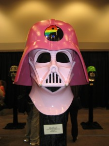 Star Wars Celebration IV - Darth Vader helmet exhibition