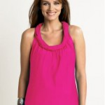 Banana Republic Silk Twist-Neck top
