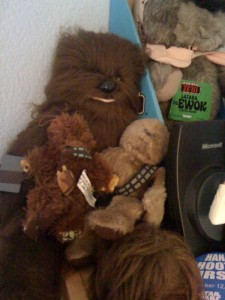 Chewbacca - original Star Wars plush