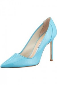 Bb Bright Patent Blue Pump